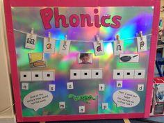 Phonics Lessons, Phonics Games, Phonics Reading, Jolly Phonics, Teaching Phonics, Primary Teaching, Teaching Resources, Class Displays, School Displays