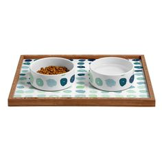 Social Proper Fallen Pet Bowl and Tray | DENY Designs Home Accessories