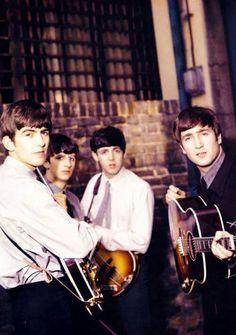 George. Ringo. Paul. John