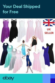 391ea8692cf5 UK Children Kid Ballet Dress Gym Leotard with Skirt Girl Lyrical Dancing  Costume