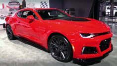 All The Details About The Powerful 2017 Chevrolet Camaro ZL1