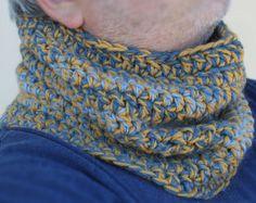 #crochet #scarf #neckwarmer #man #woman
