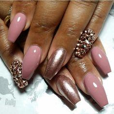 Blush with bronze