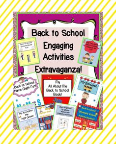 Back+to+School+Engaging+Activities+Extravaganza!+83+pages!+from+EngagingLessons+on+TeachersNotebook.com+-++(83+pages)++-+This+Extraordinary+Back+to+School+Bundle+for+Elementary+students+comes+with+9+Great+Creative+and+Engaging+Activities+just+Perfect+for+that+first+Day+or+Week+of+school!!!+Pick+&+Choose+when+you+want+to+use+each+activity~even+save+a+few+for+times+you+mi
