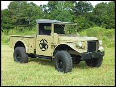 1953 M-37 or G-741, (WOW or With Out Winch)  Military version of the Dodge Power Wagon.