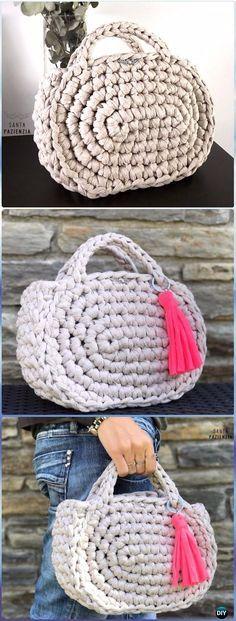 Mermoz Round Crochet Bag Is A Free Pattern Pinterest Free