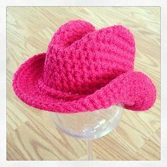 Ravelry  Boot Scoot n Cowboy Hat pattern by Elizabeth Alan Crochet Cowboy  Hats 330ac2c73b23