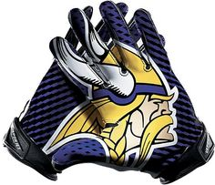 Shop for the Nike Vapor Jet (NFL Vikings) Mens Football Gloves at the  official Read product specs and order the Nike Vapor Jet (NFL Vikings) Mens  Football ... 263595a77