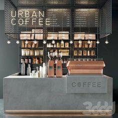 Coffee Bar Design, Coffee Shop Interior Design, Restaurant Interior Design, Office Interior Design, Small Coffee Shop, Coffee Shop Bar, Coffee Store, Coffee Shop Counter