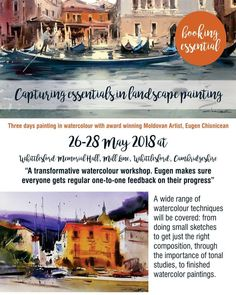 This year's highlight workshop for me: 3 days of painting with Come and join in. Contact me for details. Painting Workshop, About Uk, Highlight, Join, Watercolor, Artist, Lights, Pen And Wash, Watercolor Painting