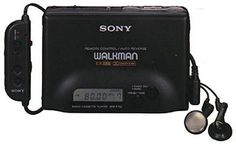 Walkman - had this before the disc man!