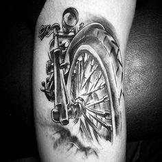 Motorcycle Tattoos Men