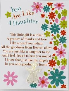 You Are Like A Daughter To Me Google Search Quotes Birthday