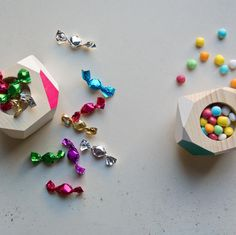 Sweet and colorful Stud Earrings, Colorful, Wood, Sweet, Handmade, Accessories, Jewelry, Candy, Woodwind Instrument