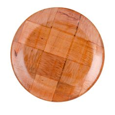 """$11.49/Pack  9"""" Woven Wood Plate 12/Pack  TO SIT SOUP BOWLS ON WITH BREAD"""