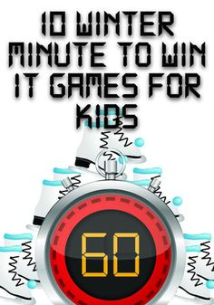 Winter Carnival Games For Kids Minute To Win It Ideas Carnival Games For Kids, Games For Teens, Kids Party Games, Fun Games, Carnival Ideas, Team Games, Church Games, Kids Church, Church Ideas