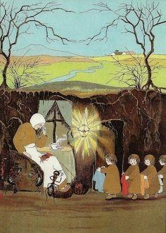 (Van de wortelkindertjes) The Story of the Root Children' by Sybille von Olfers