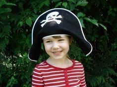 Child Pirate Hat by herflyinghorses on Etsy, $9.50