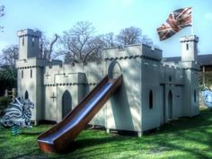 Wooden Castle Play Area