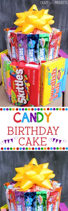 Teenagers can be the hardest people to gets gifts for. Usually the things that they want are pretty pricy as well. These 15 DIY gifts for teens are going to save you when it comes to birthday's, christmas, graduation, andRead Candy Birthday Cakes, Candy Cakes, Mom Birthday Gift, Birthday Presents, Birthday Parties, Birthday Ideas, Boyfriend Birthday, 16th Birthday, Teen Birthday