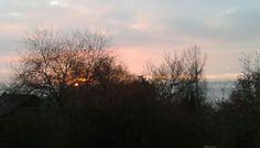 Sonnenaufgang 14.12.16 8:27