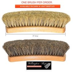 8 in Professional Shoe Shine Brush Buffing Shoe Brush Horsehair for leather Professional Shoes, Horsehair, Leather, Color, Ebay, The Bucket List, Colour, Colors, Dress Shoes