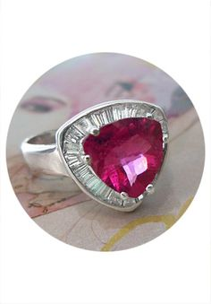 Gorgeous! I love the pink tourmaline and the price can't be beat!-The Jewelry Box of Lake Forest