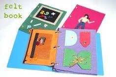Cathie Filian: Make a Kids Felt Book
