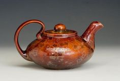 Bruce Gholson  Cranberry Teapot