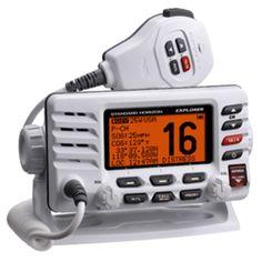 WEST MARINE VHF680 Class D DSC VHF Radio | Boat ideas | Walkie