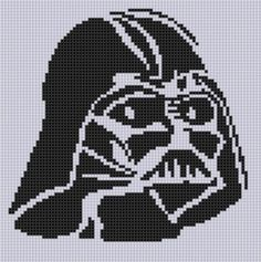 Darth Vader Stitch Pattern | Craftsy