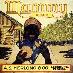 Florida FL - Leesburg Mammy Orange Crate Label Art Print