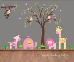 love this! you cant have just plain painted walls...you have to have wall art!