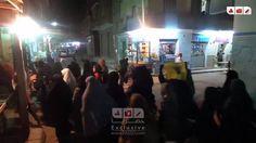 مسيرة ثوار السويس اليوم والتي أنطلقت في العديد من الشوارع الرئيسية بحي ا...