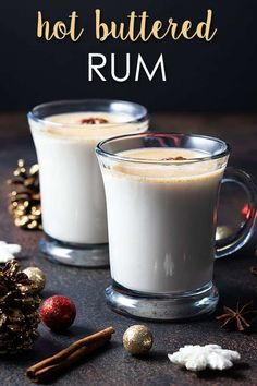 Could You Eat Pizza With Sort Two Diabetic Issues? Hot Buttered Rum - A Comforting Hot Cocktail Recipe That Is So Easy To Prepare. Ideal For Sipping By The Fire Or Holiday Gatherings Rum Cocktails, Beste Cocktails, Winter Cocktails, Alcoholic Drinks, Rum Cocktail Recipes, Cocktail Maker, Cocktail Food, Christmas Drinks, Holiday Drinks