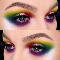 This @smashboxcosmetics Bold CoverShot Palette is unreal! I used every single color in the palette to create this look #smashboxcosmetics #covershotpalette
