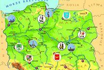 Pomoce edukacyjne i dydaktyczne, dla przedszkoli i nauczycieli, plansze edukacyjne, mapa polski dla dzieci, kalendarz pogody - EUROtest