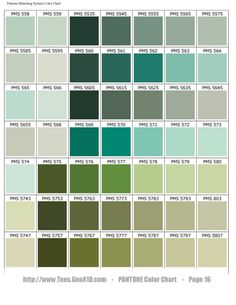 PANTONE Color Chart - PMS - Screen Printing VERY GOOD WEBPAGE TO LOOK UP PANTONE COLORS
