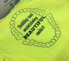 Kearney Dental Clinic P.C. - Dentist - bright t-shirt - BACK  - apparel - t-shirt - tee shirt - design - screen print - screenprint - Kearney Nebraska - Shirt Shack - www.shirtshackkea...