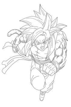 Dragon Ball Z Ausmalbilder. Malvorlagen Zeichnung druckbare nº 80