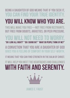Daughter of God design. Love this quote!