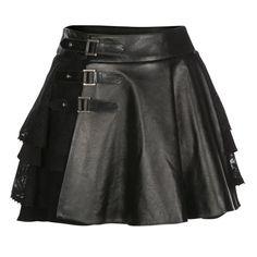 Cherie Lace & Leather Kilt | Mairi McDonald | Wolf & Badger