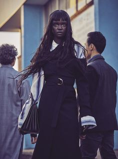Vogue Australia August 2017 Duckie Thot photographed by Nicole Bentley | fashion editorial fashion photography