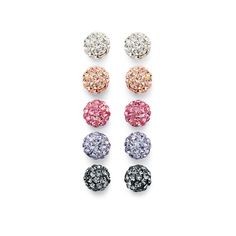 Smart Value® 5 Piece Boxed Set Crystal Earrings in Sterling Silver by @Helzberg Diamonds Diamonds Diamonds #helzberg #earrings #aislestyle Enter the Aisle Style Sweeps for a chance to win up to $3,000 in gift certificates from David's Bridal & Helzberg Diamonds! Enter now thru 9/2: http://sweeps.piqora.com/aislestyle Rules: http://sweeps.piqora.com/contests/contest/content/davidsbridal.com/310/rules
