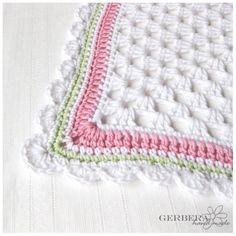 crochet baby girl blankets - Google Search