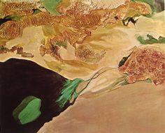 Jane Frank (1918-1986), Aerial Series: Dorado no. 2, 1970: An example of aerial landscape art, with no horizon and no sky.