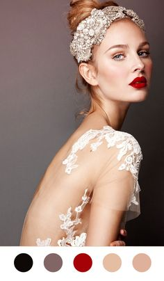 Scheming and Dreaming Enrico Maria The Red Lipped Bride wedding Red Lips  scheming and dreaming inspiration inspiration board inspiration found and beautiful