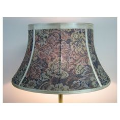Starting bid only 55.00.  Large+Handcrafted+Floor+or+Table,+Bell+Shaped+Lamp+Shade+#ShadezofMichelle+#Traditional