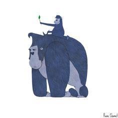 Go Daddy go!   Illustration by Rosie Chomet