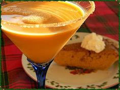 Pumpkin Pie Martini..... because fall cannot come soon enough! ;)